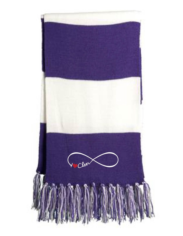 how to make cheer scarves