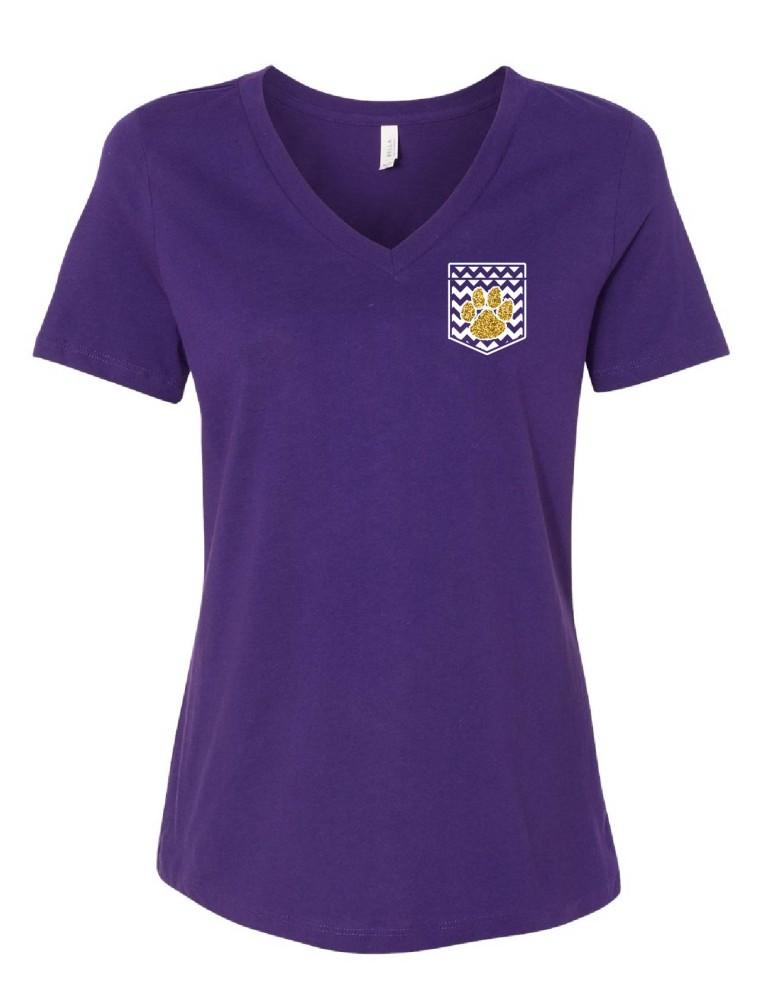 School Ladies Faux Pockets-SS-09