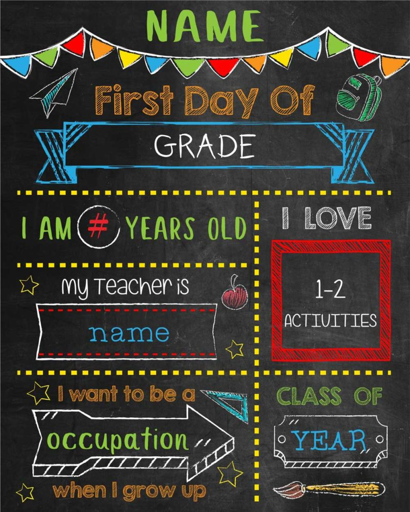 First-Day-of-School-Posters-Boy-Generic-example